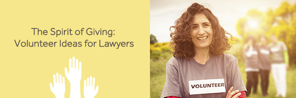 Volunteering ideas for lawyers