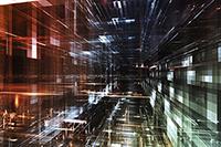 Weird digital abstract STEM-ish image