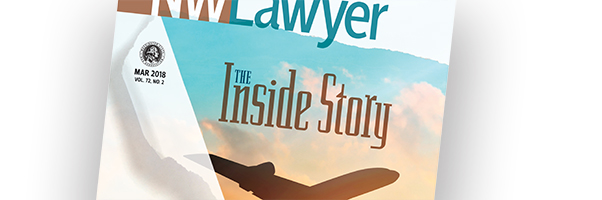 Cover of March NWLawyer