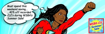 A female super hero flying