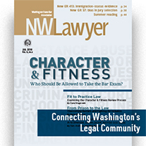Cover Of July NWLawyer